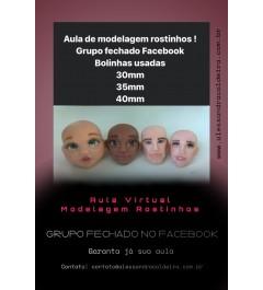 AULA ONLINE MODELAGEM DE ROSTINHO